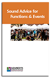 Sound Advice for Functions and Events - Tips to Help Your Nonprofit Stage Safer Special Events